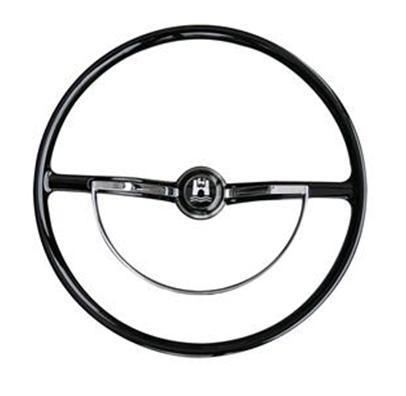 Steering Wheel Replacement Style Black 62 72